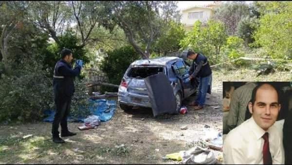 Balıkesir'de Okul Müdürü trafik kazasında hayatını kaybetti