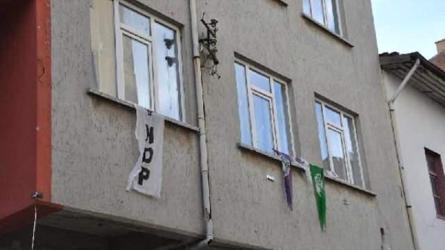 Çorum\'da HDP binasına taşlı saldırı