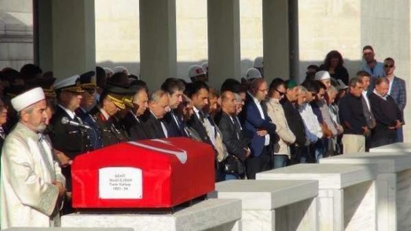 Dağlıca Tabur Komutanı Şehit Yarbay İhsan Ejdar son yolculuğuna uğurlandı