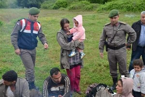 Edirne Sınırında Sığınmacı Denetimi