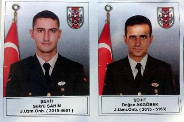 Erzurum Şenkaya'da 2 uzman onbaşı şehit oldu