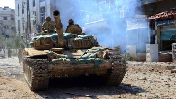 Esad kışladan çıktı. Suriye'de kara savaşı