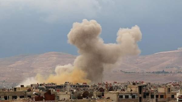 Esad saldırdı 14 sivil öldü