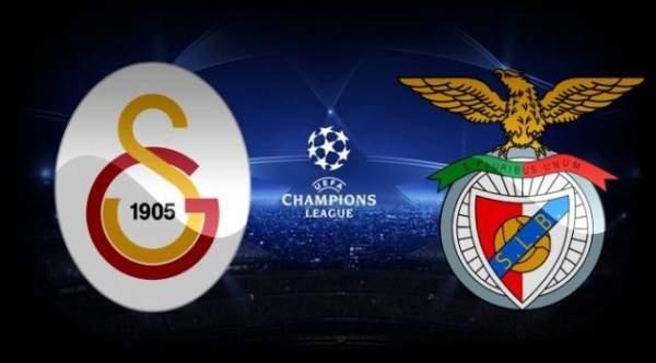 Galatasaray evinde Benfica'yı 2 gol ile devirdi