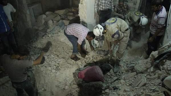 Halep'te Varil Bombalı Saldırı