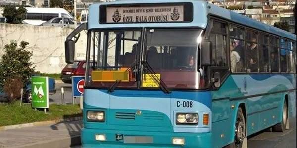 İstanbul'da Özel Halk Otobüsleri isyanda