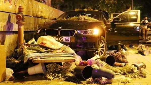 Kadıköy'de çiçekçiye çarpıp kaçan 19 yaşındaki genç tutuklandı