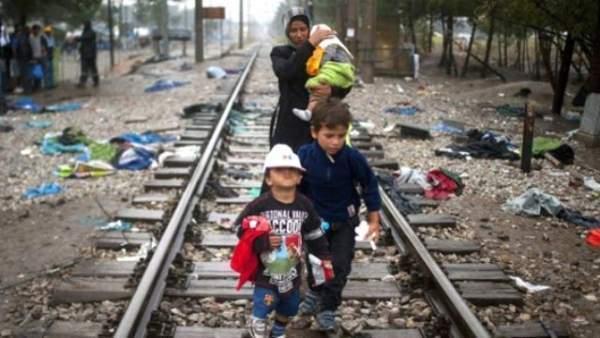 Karnında ölü bebeğiyle kovulan mülteci!