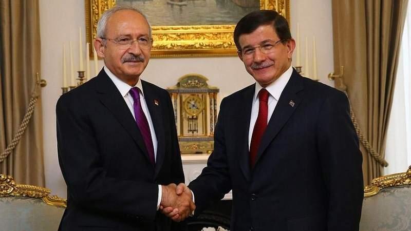 Kılıçdaroğlu Davutoğlu\'nu tebrik etti