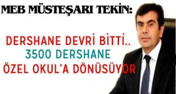 Milli Eğitim Bakanı Müşteşarı Doç.Dr Yusuf TEKİN Açıklamayı Yaptı.