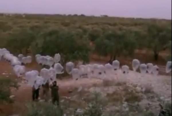 Muhalifler Rusya'ya karşı bombalı balon üretti