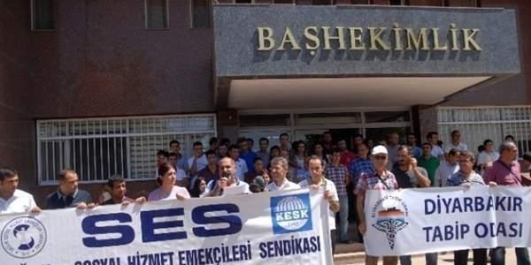 Sağlık Çalışanlarına Saldırı Protesto Edildi
