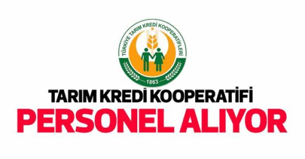 Tarım Kredi Kooperatifleri İzmir Bölgesi Personel Alımı