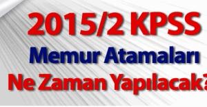 2015/2 KPSS atamasında 2 bin kişi iddiası