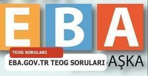 MEB Eba giriş - eba.gov.tr TEOG soruları ve cevaplarını öğrenme