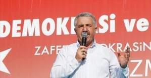 Ulaştırma, Denizcilik ve Haberleşme Bakanı Arslan: Millet olma şuurunu hesaba katmadılar