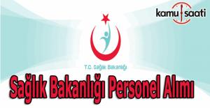 Sağlık Bakanlığı 4 bin 984 sözleşmeli personel alacak