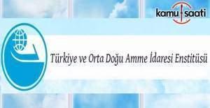 Türkiye ve Orta Doğu Amme İdaresi personel alacak