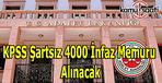 Adalet Bakanlığı 4 bin İnfaz Memuru alımı