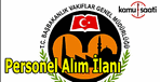 Vakıflar Genel Müdürlüğü personel alım ilanı