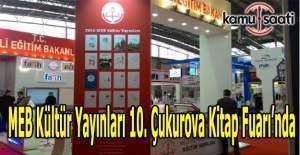 MEB Kültür Yayınları 10. Çukurova Kitap Fuarı'nda