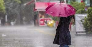 Meteoroloji'den 4 ile kuvvetli yağış uyarısı