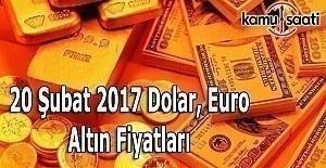 20 Şubat Pazartesi Dolar, Euro ve...