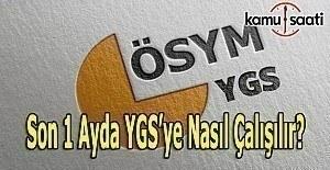 Son Dönemde Ygs'ye Nasıl Çalışır? Sınavdan yüksek puan alma ipuçları