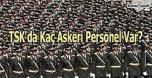 TSK'da kaç askeri personel var?