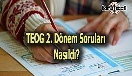 TEOG Fen Bilimleri ve İnkılap Sınavı nasıldı, hatalı soru var mı? 27 Nisan 2017