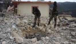 Afrin'de teröristlere ait yeni tüneller bulundu