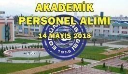 Ege Üniversitesi 38 Akademik Personel Alacak - 14 Mayıs 2018