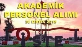 İskenderun Teknik Üniversitesi 11 Akademik Personel Alımı - 30 Mayıs 2018
