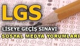 2018 LGS sosyal medya yorumları! 2 Haziran 2018 liseye geçiş sınavı nasıldı?