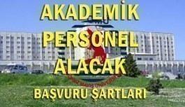 Ondokuz Mayıs Üniversitesi 40 Akademik Personel Alacak - Başvuru Şartları