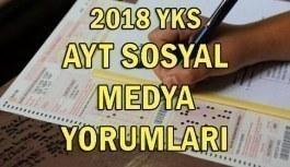 2018 YKS sınavı sosyal medya yorumları! 1 Temmuz AYT sınavı nasıldı?