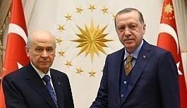 Bahçeli'nin ittifak açıklamasına Erdoğan'dan cevap geldi