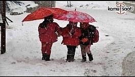 Yarın Okullar Tatil mi? 7 Ocak 2019 Pazartesi Kar Tatili olan İller