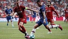 İstanbul'da oynanan Uefa Süper Kupa finali Chelsea- Liverpool Kazanan: LİVERPOOL