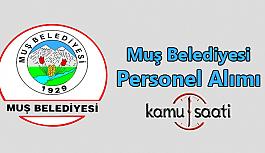 Muş Belediyesi Personel Alımı 2019