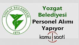 Yozgat Belediyesi Personel Alımı 2019