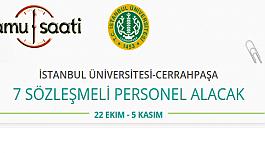 İstanbul Üniversitesi Cerrahpaşa Rektörlüğü Bilişim Personeli Alımı