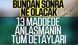 Türkiye Masada ve Sahada KAZANDI, ABD ve Türkiye'den 13 maddelik ortak açıklama