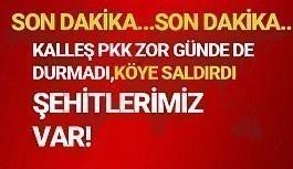 KALLEŞ PKK ŞU ZOR GÜNLERDE DE DURMADI