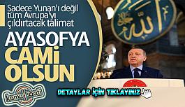 Ayasofya tekrar cami olarak açılacak mı? Ayasofya Cami Olarak Açılıyor mu? Erdoğan'dan Ayasofya kararı