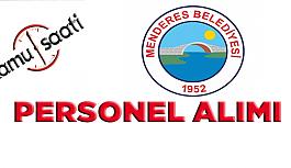 Menderes Belediyesi Personel Alımı, İş Başvurusu