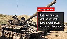 """Paşinyan """"Herkes silahına sarılmalı"""" derken Azerbaycan ordusu, Karabağ cephesinde çok sayıda tank ele geçirdi"""
