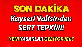 Kayseri'de kısıtlama sonrası sokaklarda yoğunluk oluştu Kayseri Valisi Twetter'dan Tepki Gösterdi