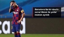 Lionel Messi hangi takıma gidecek? Barcelona'da bir devrin sonu! Lionel Messi'yle yollar resmen ayrıldı