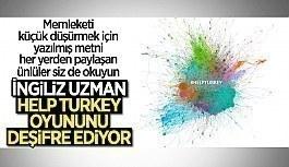 Oyun Çözüldü! Dezenformasyo uzmanı Mark Owen Jones, 'Help Turkey' etiketini değerlendirdi